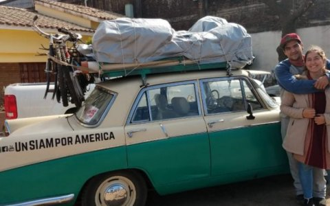 De Córdoba a Alaska a bordo de un Siam Di Tella