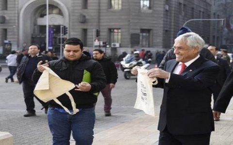 Prohíben bolsas plásticas en Chile como medida ambiental
