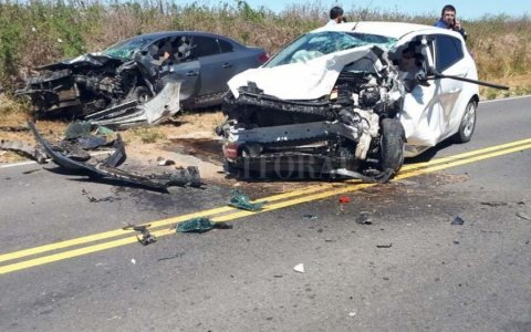 Tres muertos en choque que involucró tres vehículos en localidad de Santa Fe
