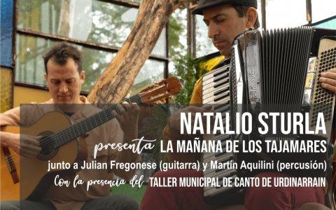 """Natalio Sturla presentará su disco """"La mañana de los Tajamares"""" el 13 de octubre En Gilbert."""