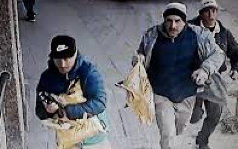 Así escaparon los ladrones que robaron un blindado en Lomas del Mirador