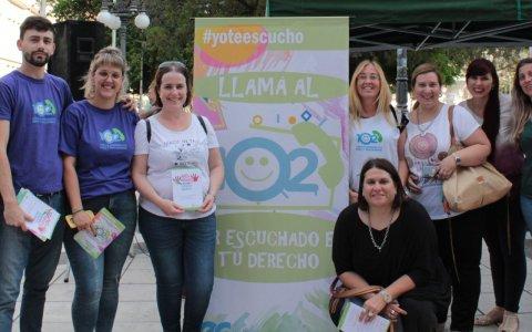 Se recordó en toda la provincia el día mundial de prevención del abuso sexual infantil