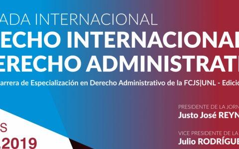 Se realizan las jornadas internacionales derecho internacional y derecho administrativo