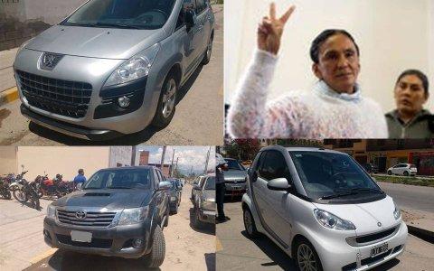 Ordenan en Jujuy el secuestro de 19 autos atribuidos a Milagro Sala