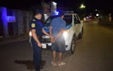 La policía de Gualeguaychú atrapó a boquetero en plena acción