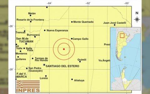 Potente sismo en Mendoza: 5.1º en la escala de Richter