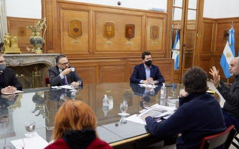 El gobierno nacional continúa con la ronda de diálogo con las provincias