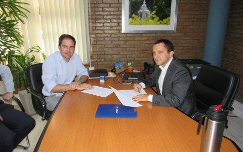 La Municipalidad de Larroque ya opera en la plataforma de ATER tras acuerdo mutuo de colaboración e intercambio