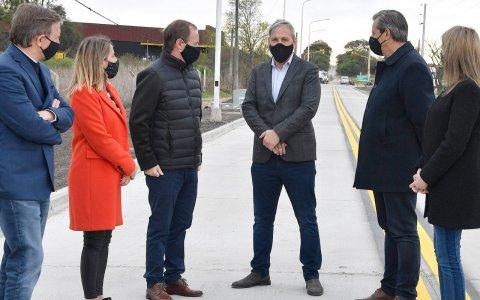 Bordet articula junto a los intendentes obras de infraestructura urbana