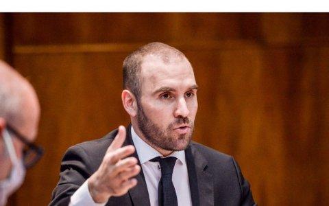 El ministerio de economía envió al congreso de la nación el proyecto de ley de presupuesto 2021 de la república argentina
