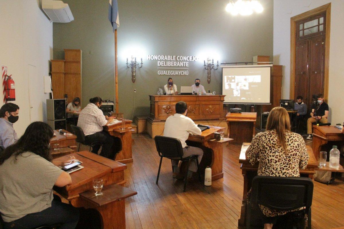 El concejo deliberante prorrogó por 30 días las sesiones ordinarias