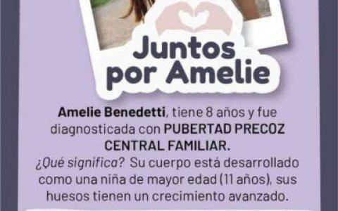 El caso de Amelie, la niña de 8 años que moviliza la solidaridad de Gualeguaychú