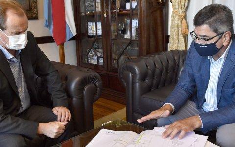 Bordet repasó con el titular de enersa el plan de obras energéticas de la provincia
