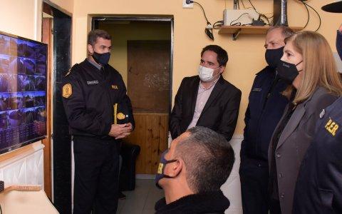 La Ministra de Gobierno Rosario Romero Visto Larroque  y la ampliación del Centro de Monitoreo , son herramientas para reforzar sistemas de seguridad en municipios
