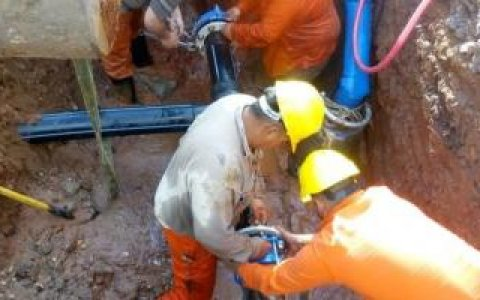 Se reprograman los trabajos de empalme a la nueva red de agua previsto para hoy