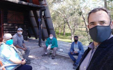 La municipalidad trabaja con el grupo scouts de argentina