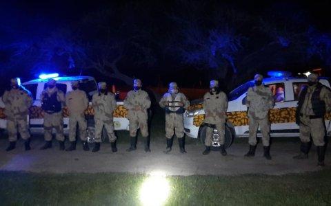 En Larroque, Talitas, Irazusta y zonas rurales  La Policial de la Dirección Prevención Delitos Rurales Realizo Operativos Con  Resultados Positivos.