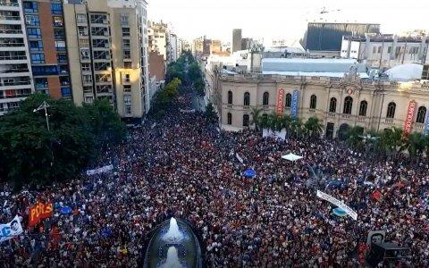 """Encuentro estrena """"levantemos los pañuelos. Un pueblo contra la impunidad"""""""