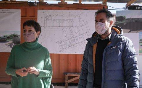 Cabandié y mendoza celebraron el inicio de obra del complejo socioambiental ecoparque quilmes