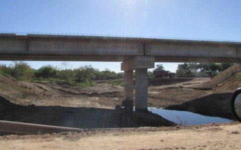 Departamento Gualeguaychú: se habilitó el puente en el ingreso a General Almada
