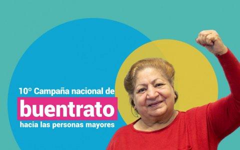 Senaf y pami lanzan la campaña por el buentrato a las personas mayores