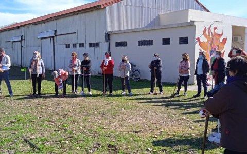 Actividades de la Dirección de Adultos Mayores, destacándose el inicio del 1er. Torneo Local de Golf Croquet.