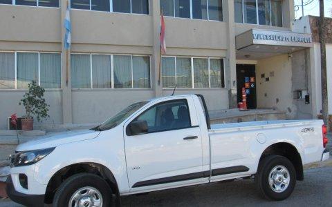 Nuevo Vehículo Se Sumo Al Parque Automotor Municipal, una Pick Up 4 x 4, 0 km