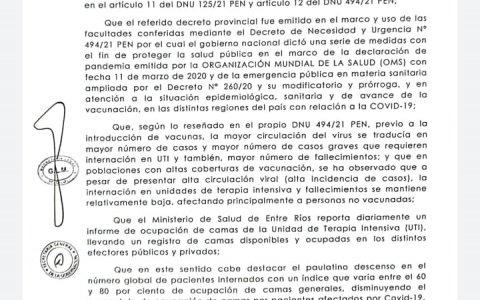 NUEVO DECRETO, SE EXTIENDE EL HORARIO DE CIRCULACIÓN. PASA DE 3.30 Horas  a 6  Horas..