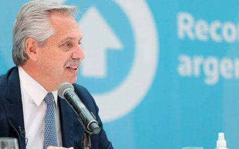Alberto Fernández anunció la Ley de Compre Argentino.