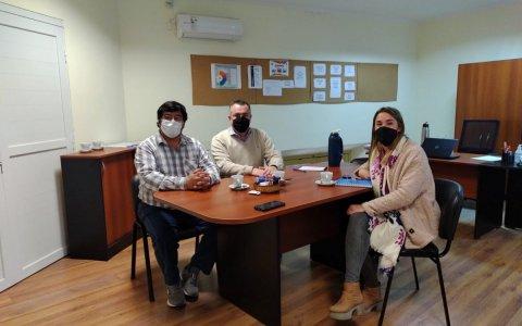 La municipalidad fortalece su trabajo con facultades en paraná