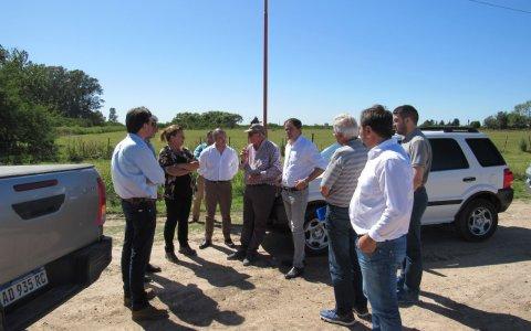 Continúan los convenios entre la Municipalidad de Larroque y Vialidad Provincial