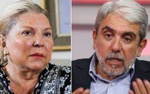 """Elisa Carrió: """"Aníbal Fernández es un intocable en la Justicia"""""""